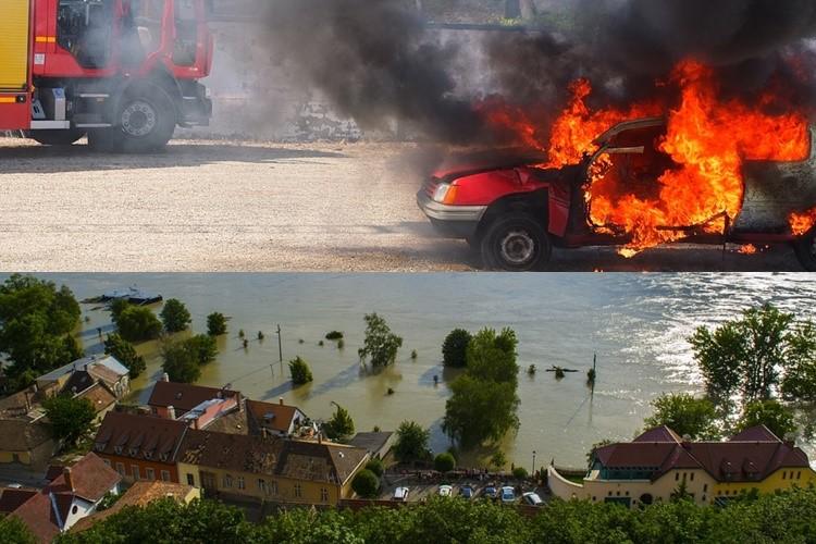 เหตุการณ์ไฟไหม้น้ำท่วม และความคุ้มครองจากประกัน