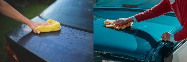 วิธีการทำความสะอาดรถยนต์
