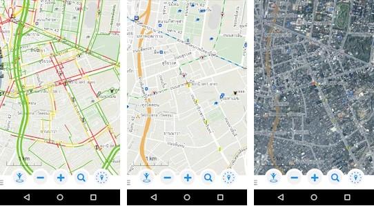 Longdo Map Application