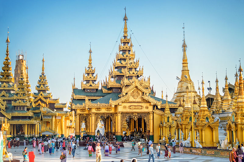 พาแม่เที่ยวพม่า