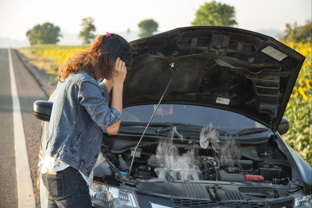 รถความร้อนขึ้นควรจอดหรือไปต่อ