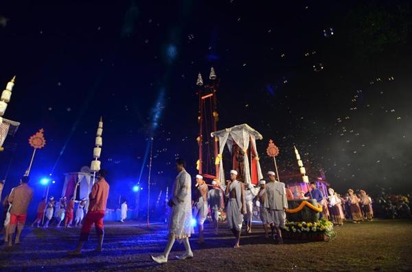 งานประเพณีสงกรานต์เทศกาลมหาสงกรานต์แห่นางดานเมืองนคร