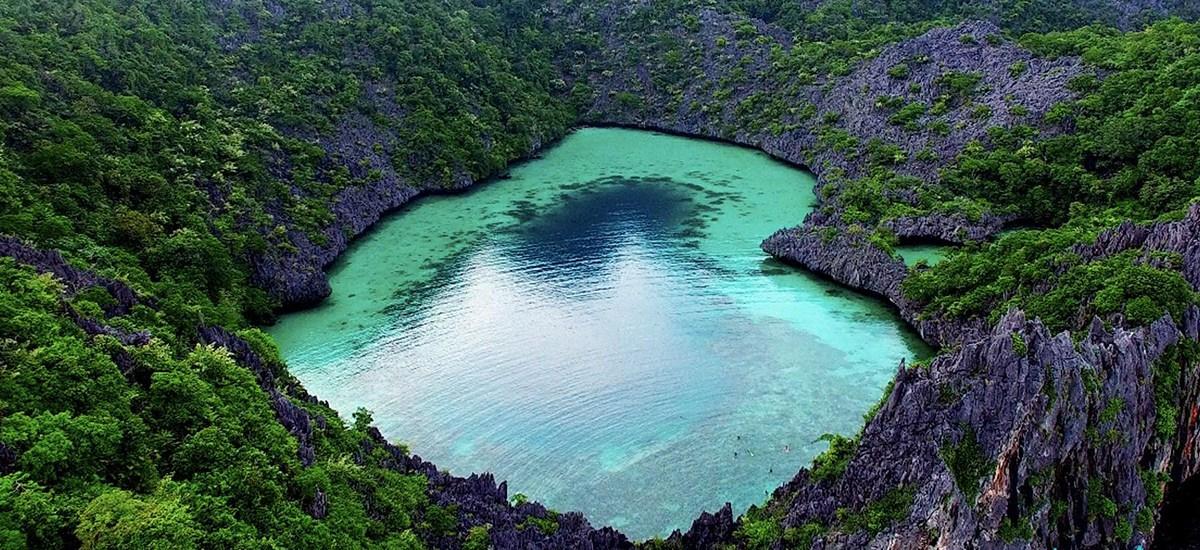 ทะเลพม่า เกาะนาวโอพี เกาะหัวใจมรกต