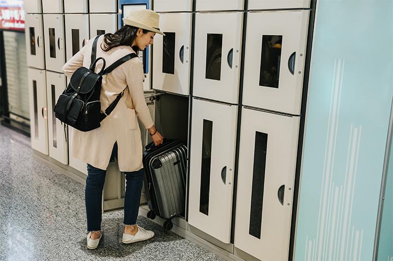 จุดรับฝากกระเป๋าในประเทศญี่ปุ่น