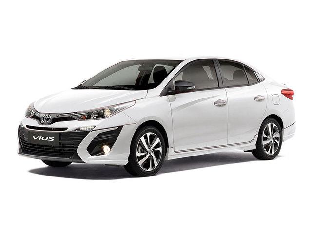 รถยนต์รุ่น TOYOTA VIOS 2019
