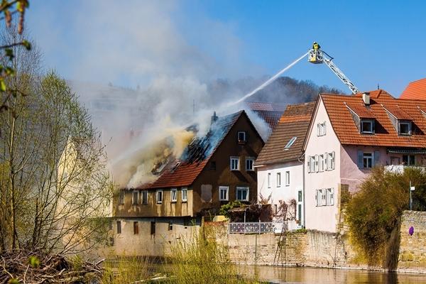 บ้านเรือน ที่ประสบเหตุเพลิงไหม้
