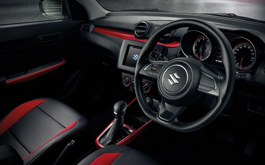 ภายในรถยนต์ Suzuki Swift 2019