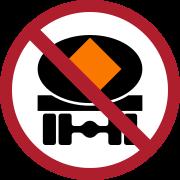 ป้ายห้ามรถบรรทุกวัตถุอันตราย
