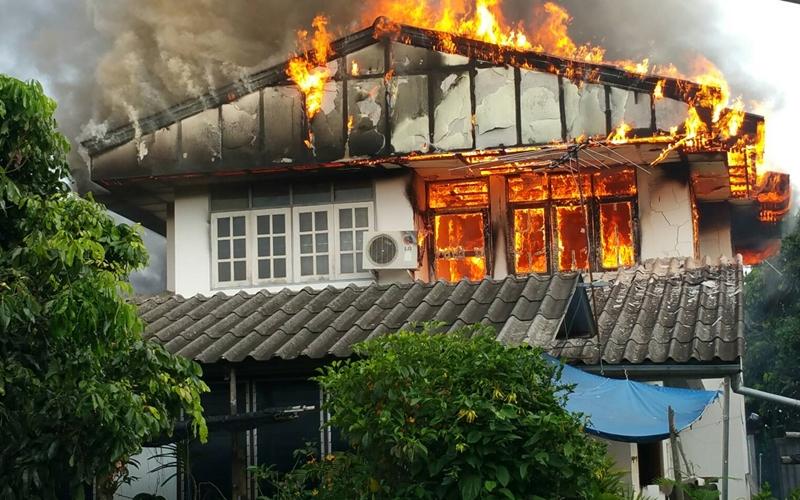 ประกันบ้าน คุ้มครองไฟไหม้