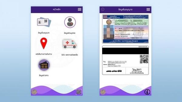 ใบขับขี่ดิจิตอล DLT Smart Licence เสมือนจริง พร้อม QR Code