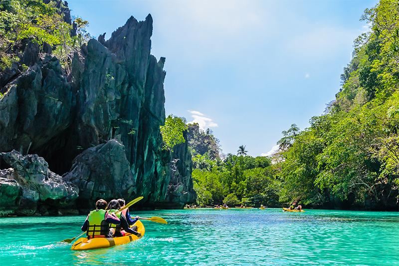 เกาะปาลาวัน ประเทศฟิลิปปินส์
