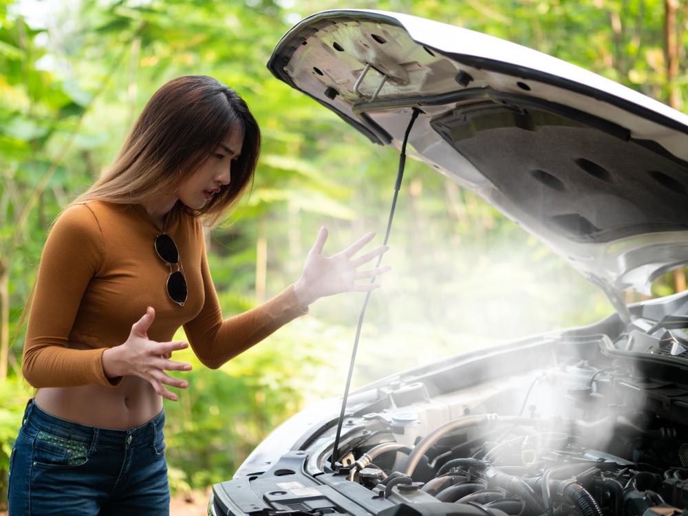 หม้อน้ำรถยนต์แห้ง เกิดจากสาเหตุใด