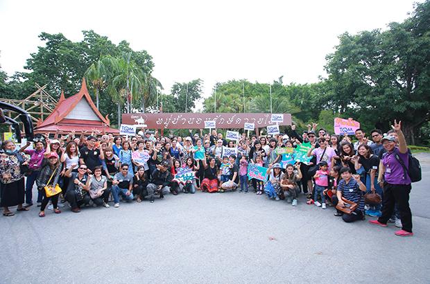 TQM พาลูกค้าเที่ยวสุพรรณบุรี ร่วมสัมผัสวิถีไทยย้อนยุค