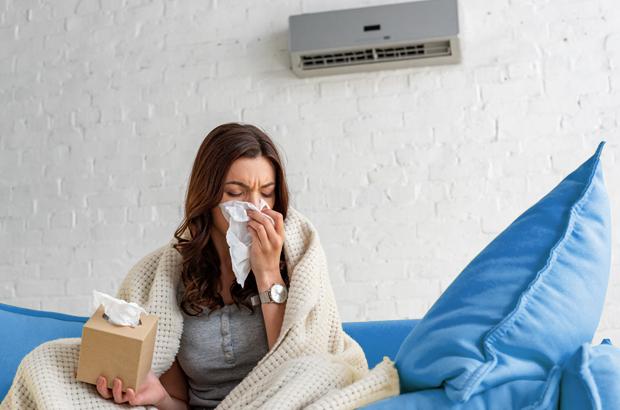 กลัวร้อน นอนห้องแอร์ตลอดเวลาระวังป่วย