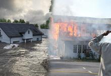 น้ำท่วมบ้าน ไฟไหม้บ้านประกันคุ้มครองไหม