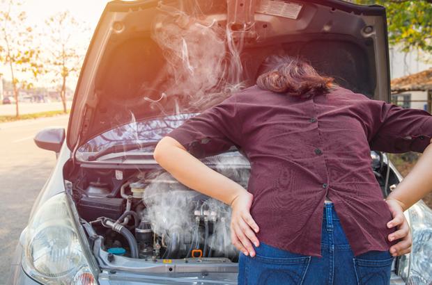 รถความร้อนขึ้นต้องทำไง